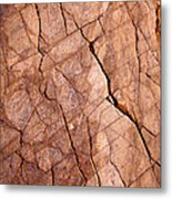 Lightening Rocks Metal Print