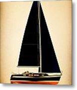 Lightening Sails Metal Print