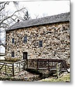 Lightfoot Mill At Anselma Chester County Metal Print