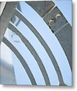 Lighthouse Abstract Metal Print