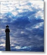 Lighthouse At Cape May Nj Metal Print