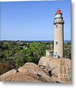 Lighthouse At Mamallapuram Metal Print