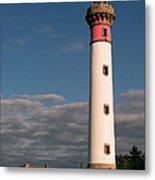 Lighthouse At Ouistreham Metal Print
