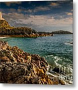 Lighthouse Bay Metal Print