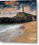 Lighthouse Beach Metal Print