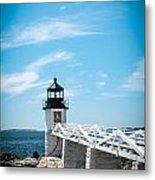 Lighthouse Metal Print by Belinda Dodd