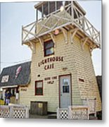 Lighthouse Cafe In North Rustico Metal Print