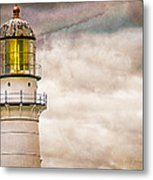 Lighthouse Cape Elizabeth Maine Metal Print