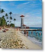 Lighthouse.  Dominican Republic.  Metal Print