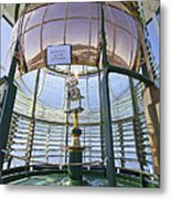 Lighthouse First Order Fresnel Lens Metal Print