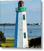 Lighthouse Hdr Metal Print