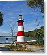 Lighthouse In Mount Dora Metal Print