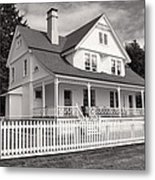 Lighthouse Keepers House  Metal Print