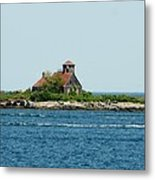 Lighthouse Keepers Residence Metal Print