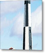 Lighthouse Living - New Cape Henry Lighthouse Metal Print