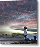Lighthouse Maria Pia Metal Print