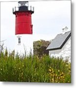 Lighthouse Of Memories Metal Print by Michelle Wiarda
