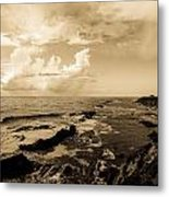 Lighthouse Of Old Metal Print