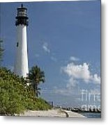 Lighthouse On A Sunny Day Metal Print
