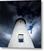 Lighthouse On Boblo Island Metal Print
