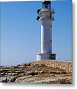 Lighthouse On Cap De Barbaria On Formentera Metal Print