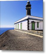 Lighthouse On Hierro Metal Print