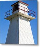 Lighthouse Pei Metal Print