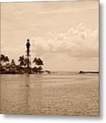 Lighthouse Point Metal Print