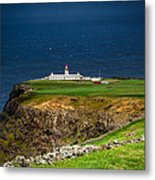 Lighthouse Ponta Do Albernaz Metal Print