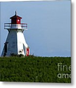Lighthouse Prince Edward Island Metal Print