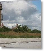 Sanibel Island Light Metal Print