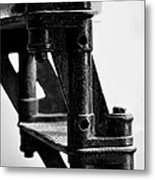 Lighthouse Stairs Metal Print