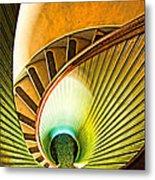 Lighthouse Stairway - Point Loma San Diego Metal Print