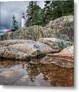 Lighthouse Top Metal Print