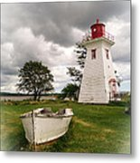 Lighthouse Victoria By The Sea Pei Metal Print