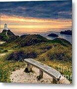 Lighthouse View Metal Print