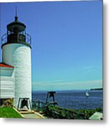 Bass Harbor Head Lighthouse Metal Print