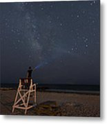 Lighting The Way To The Milkyway Metal Print