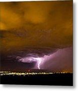 Lightning 18 Metal Print