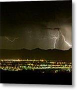 Lightning 2 Metal Print
