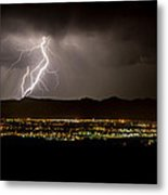 Lightning 4 Metal Print