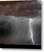 Lightning 8 Metal Print