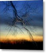 Lightning Branches Metal Print