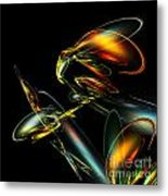 Lightning Bug Metal Print