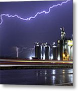 Lightning Metal Print by Gerald Murray Photography
