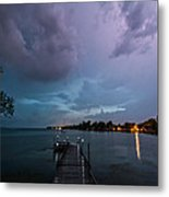 Lightning Lighting Metal Print