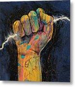 Lightning Metal Print by Michael Creese