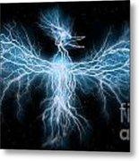 Lightning Phoenix Metal Print