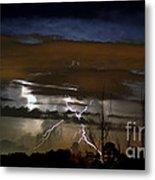 Lightning Storm Metal Print
