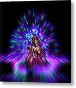 Lightpainting Tara Metal Print